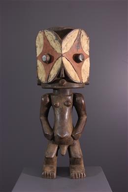 African art - Sculpted figure Bembe / Buyu Kalunga