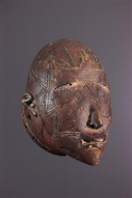 African art - Makonde Lipoko mask