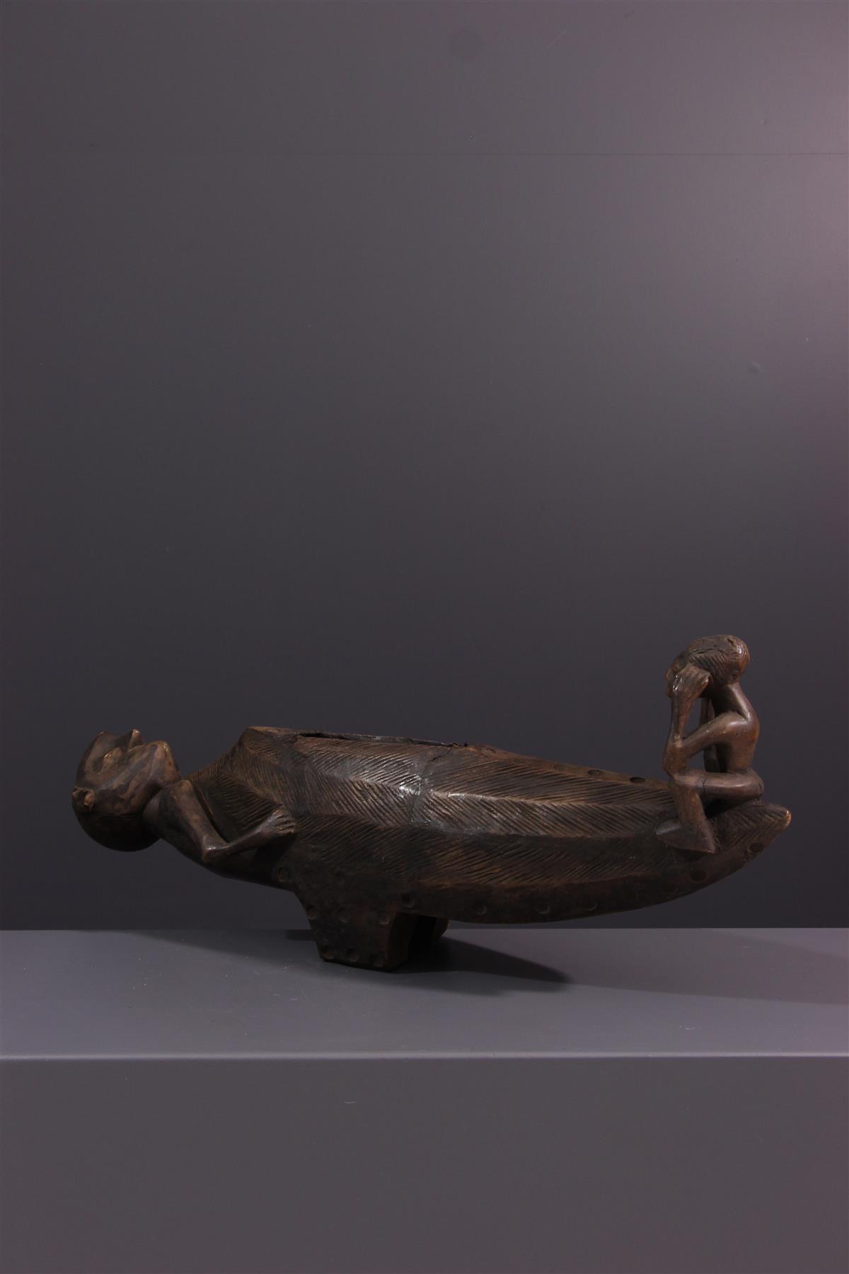 Tambour Zande - African art