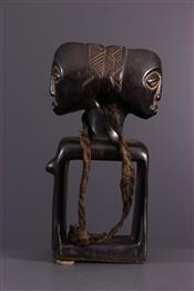 Statues africainesLuba figure