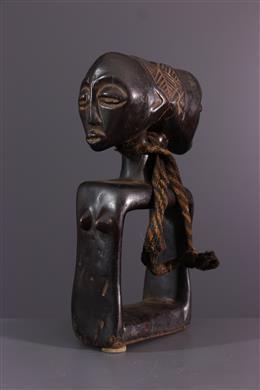 African art - Oracle of divination Luba Katatora
