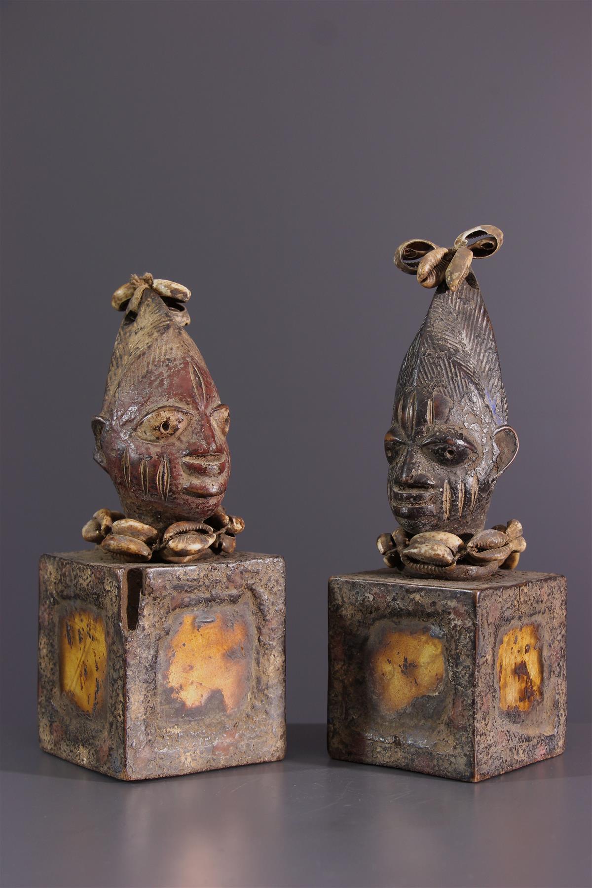 Yoruba twins - African art