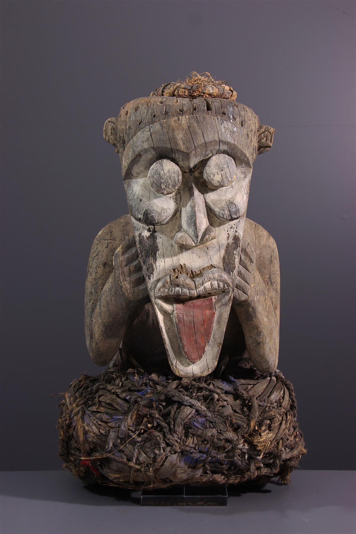 Mambila statue  - African art