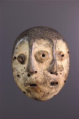 African art - Bifacial Lega Masker