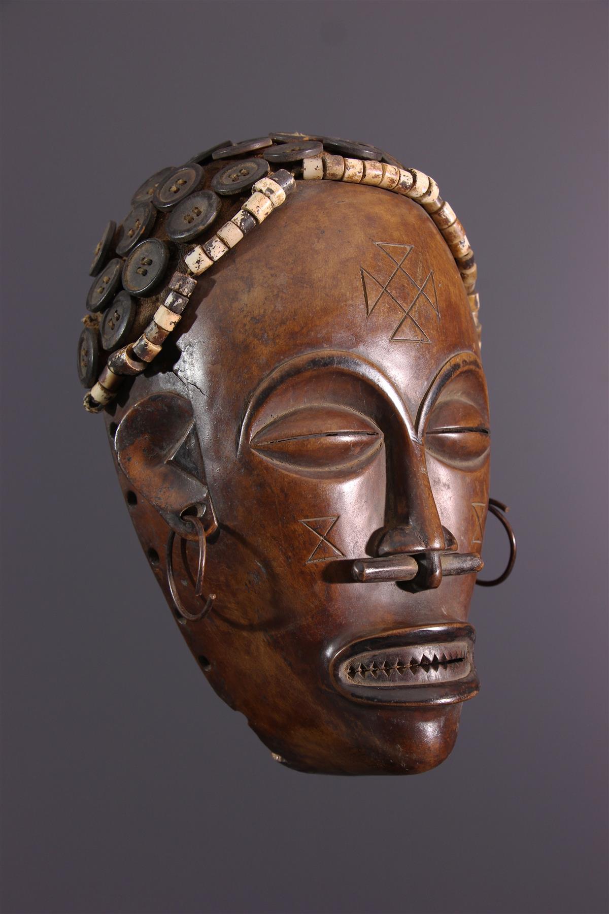 Lovale Mask - African art