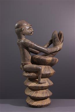 African art - Senoufo figurative statue