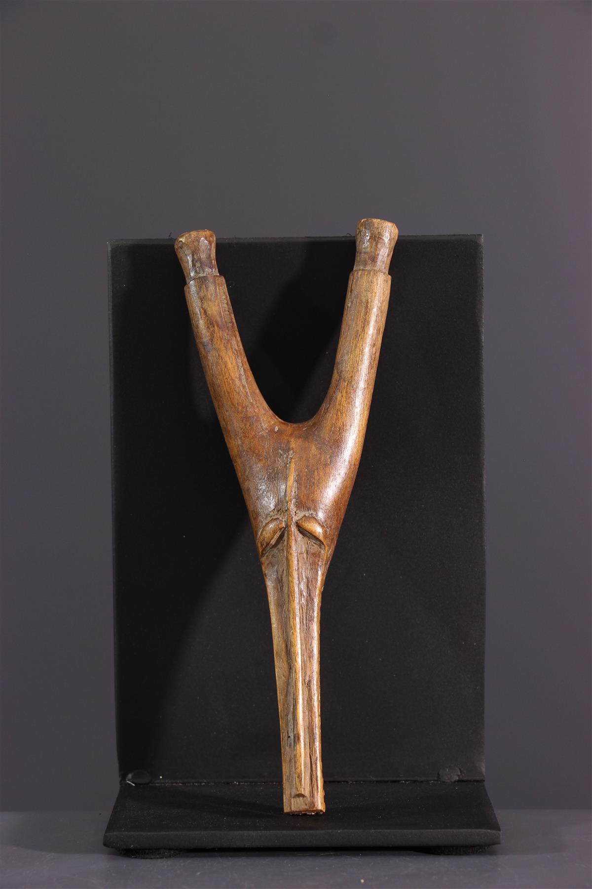 Senoufo slingshot - African art