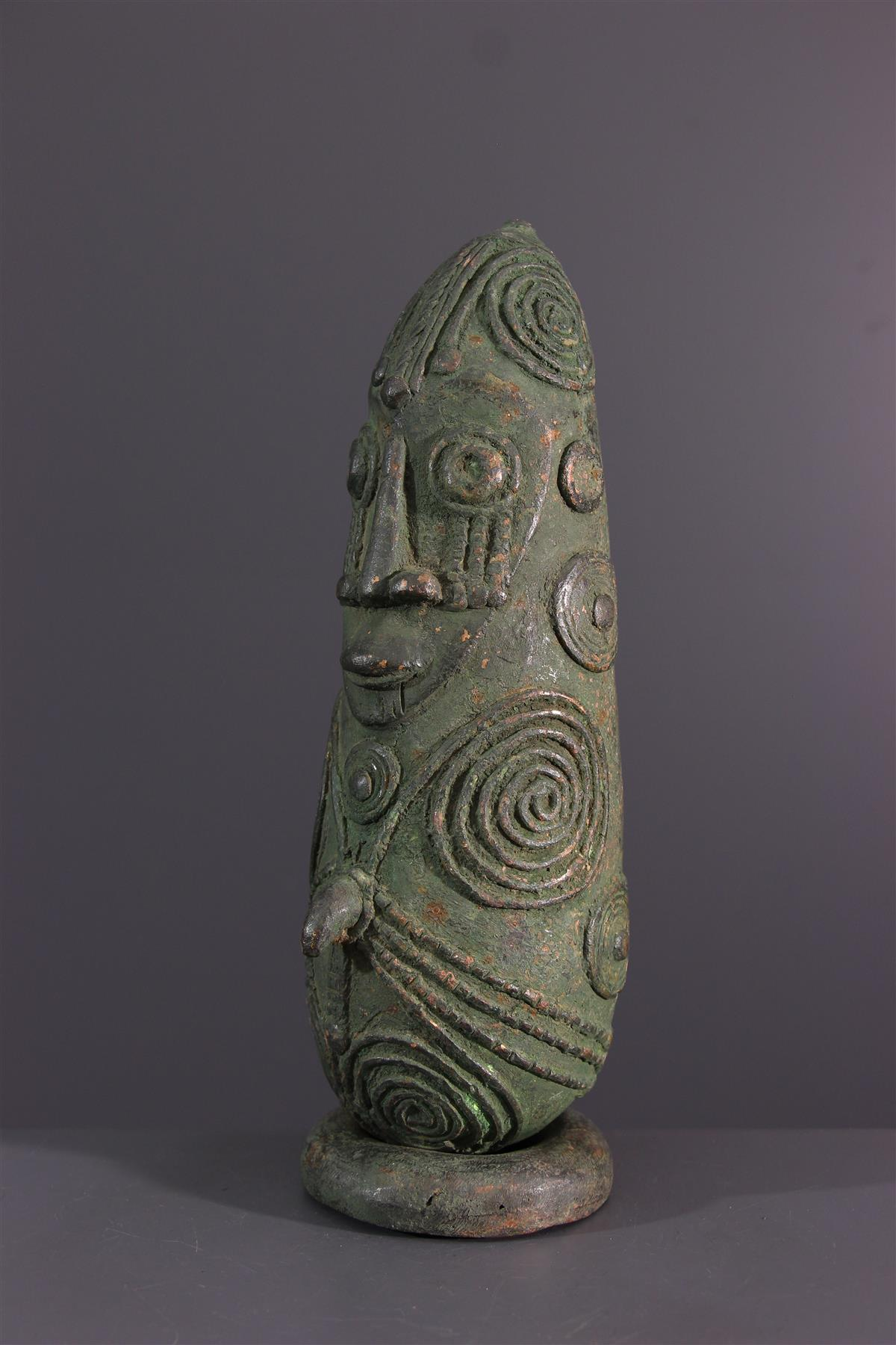 Mambila bronze - African art