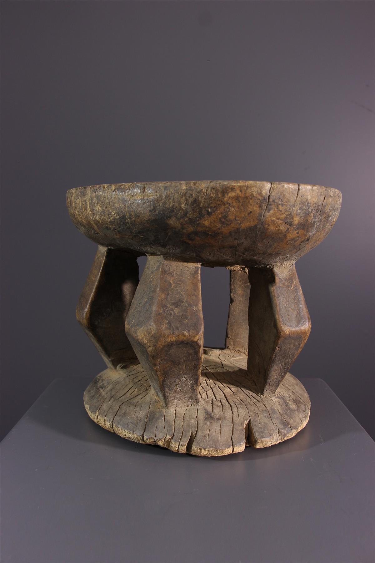 Lobi Stool - African art