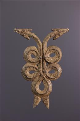 African art - Gan Torfan bronze