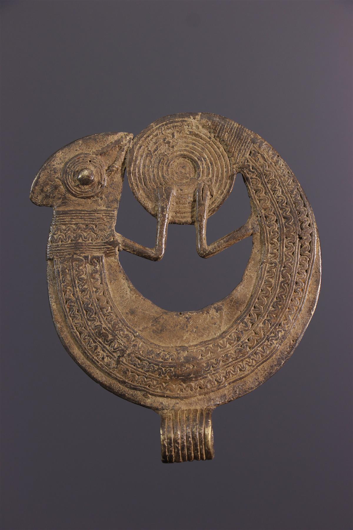 Gan bronze  - African art