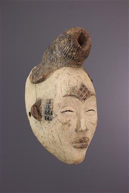 African art - Punu mask of the Okuyi dance
