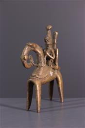 bronze africainSao rider