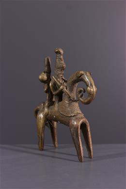 African art - Sao Sokoto rider