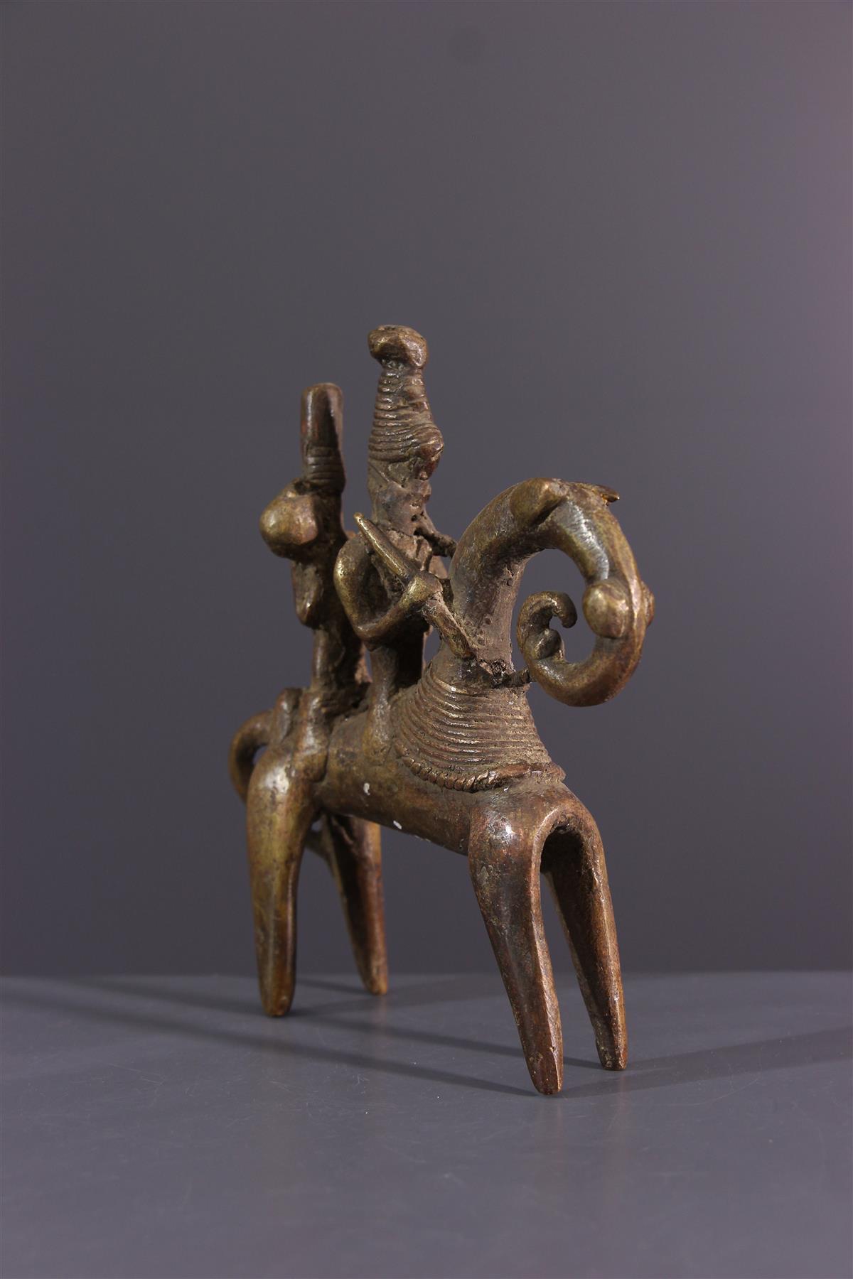 Sao rider - African art
