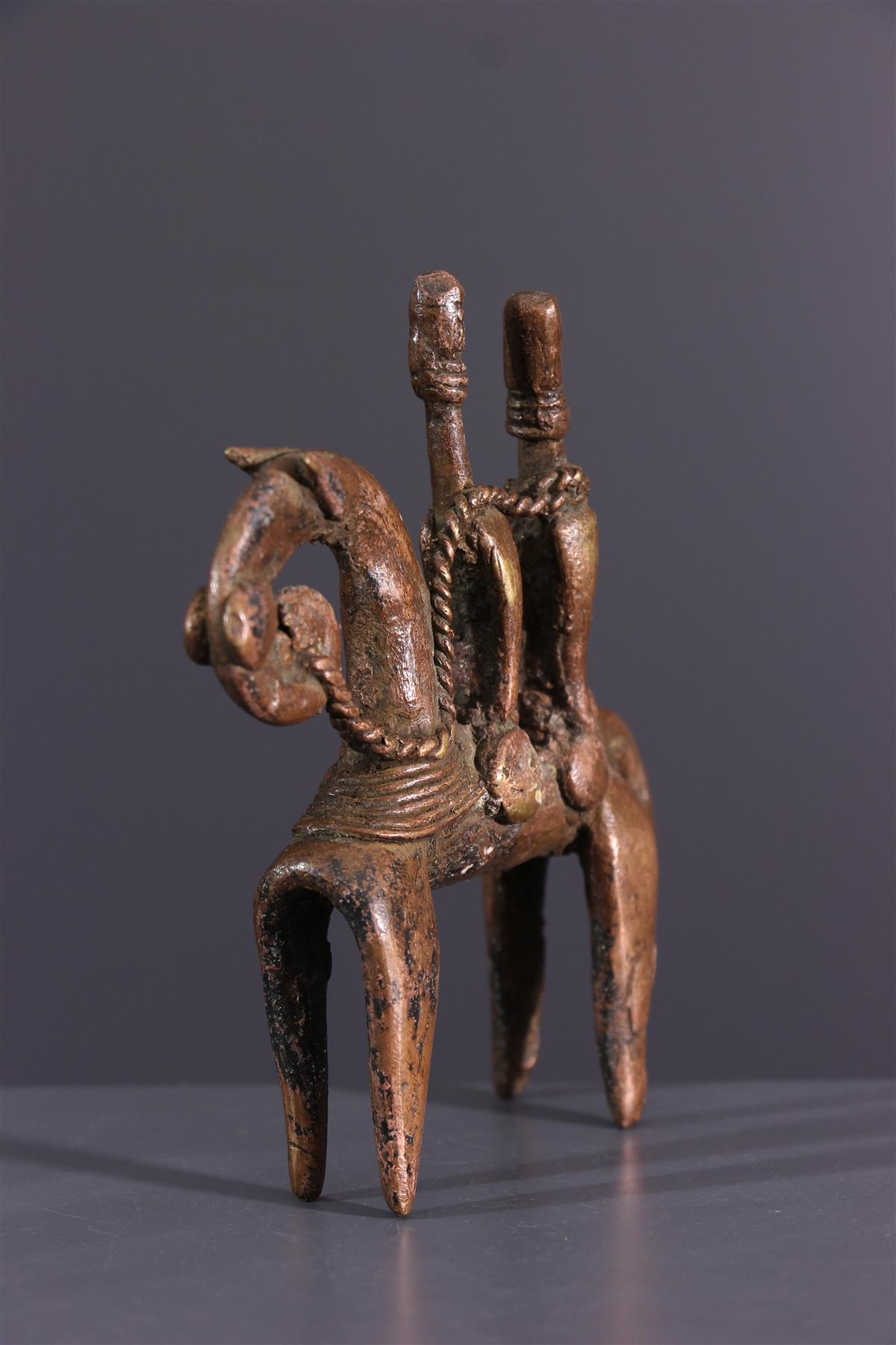 Sao bronze - African art