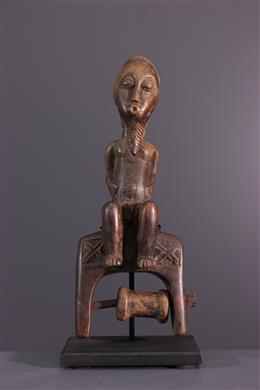 African art - Stirrup of loom Baule, Baoule