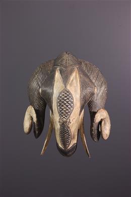 African art - Baule ram mask