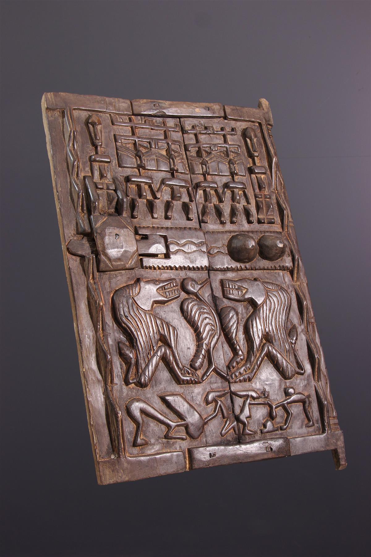 Dogon door - African art