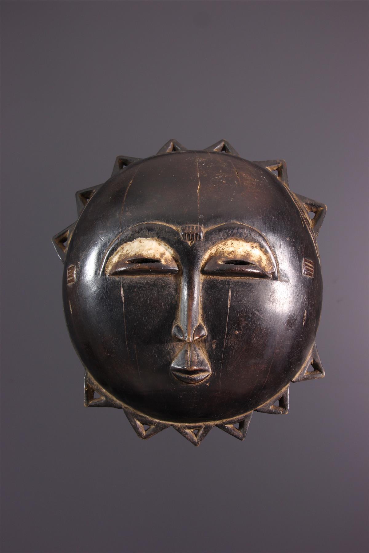 Moon mask - African art