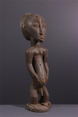 African art - Effigy of royal ancestor Hemba Singiti