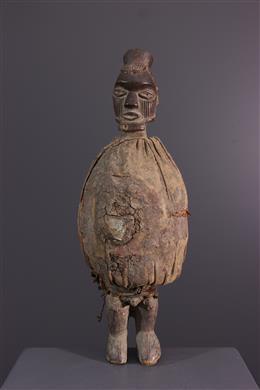 Teke Biteke fetish statue