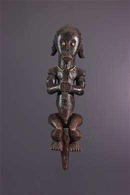 African art - Figure of Fang Ntumu ancestor of the Byeri