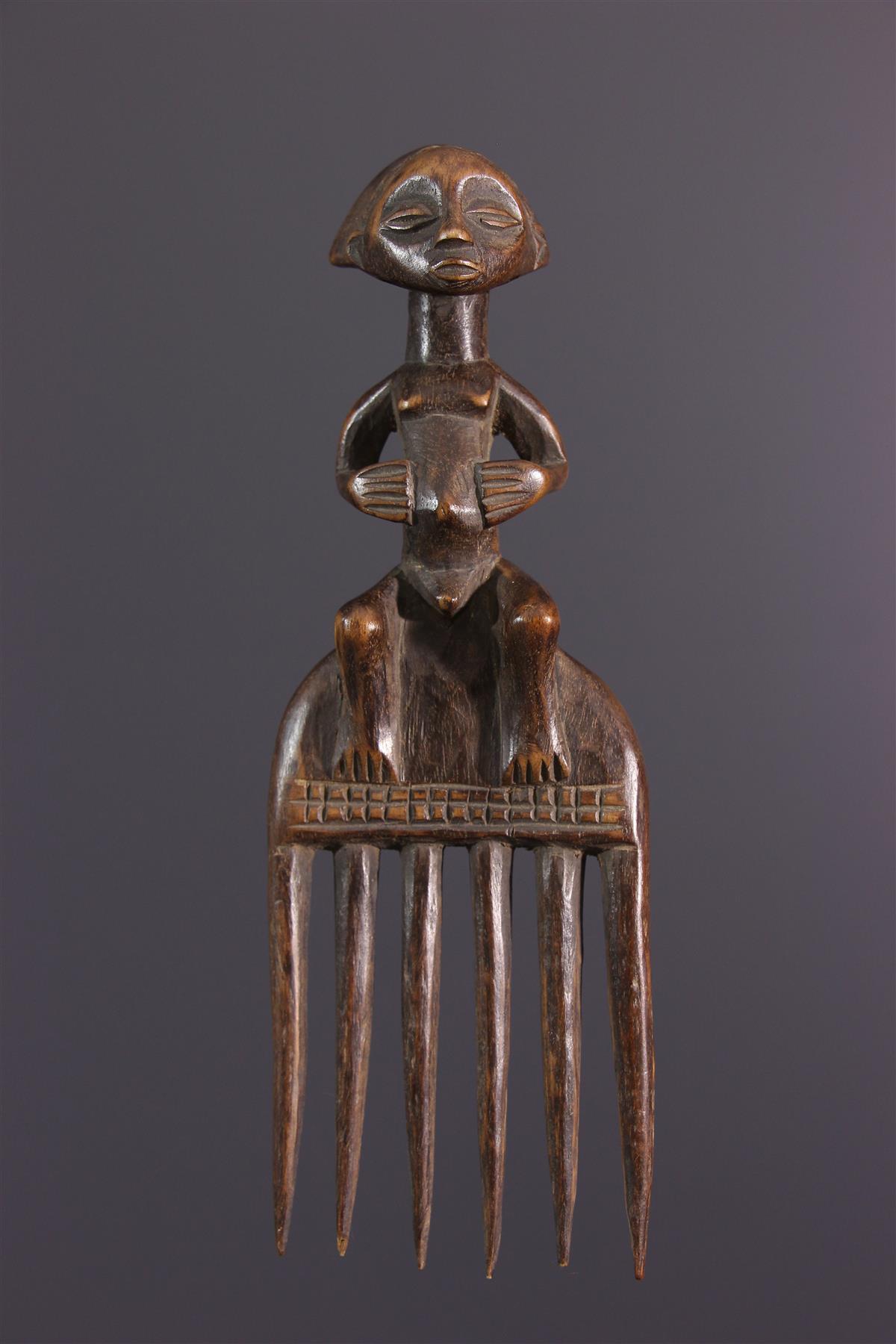 Luba comb - African art