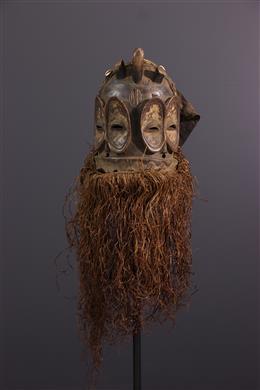 African art - Bembé Ibulu lya alunga mask