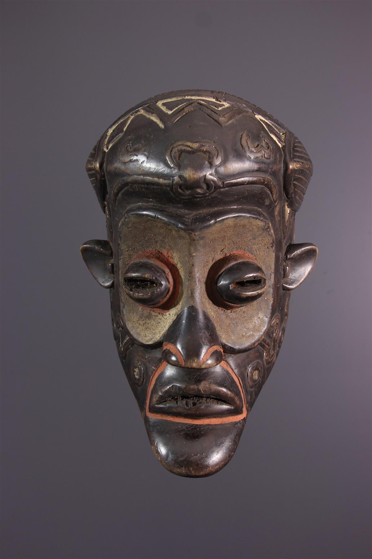 Bena Lulua mask - African art