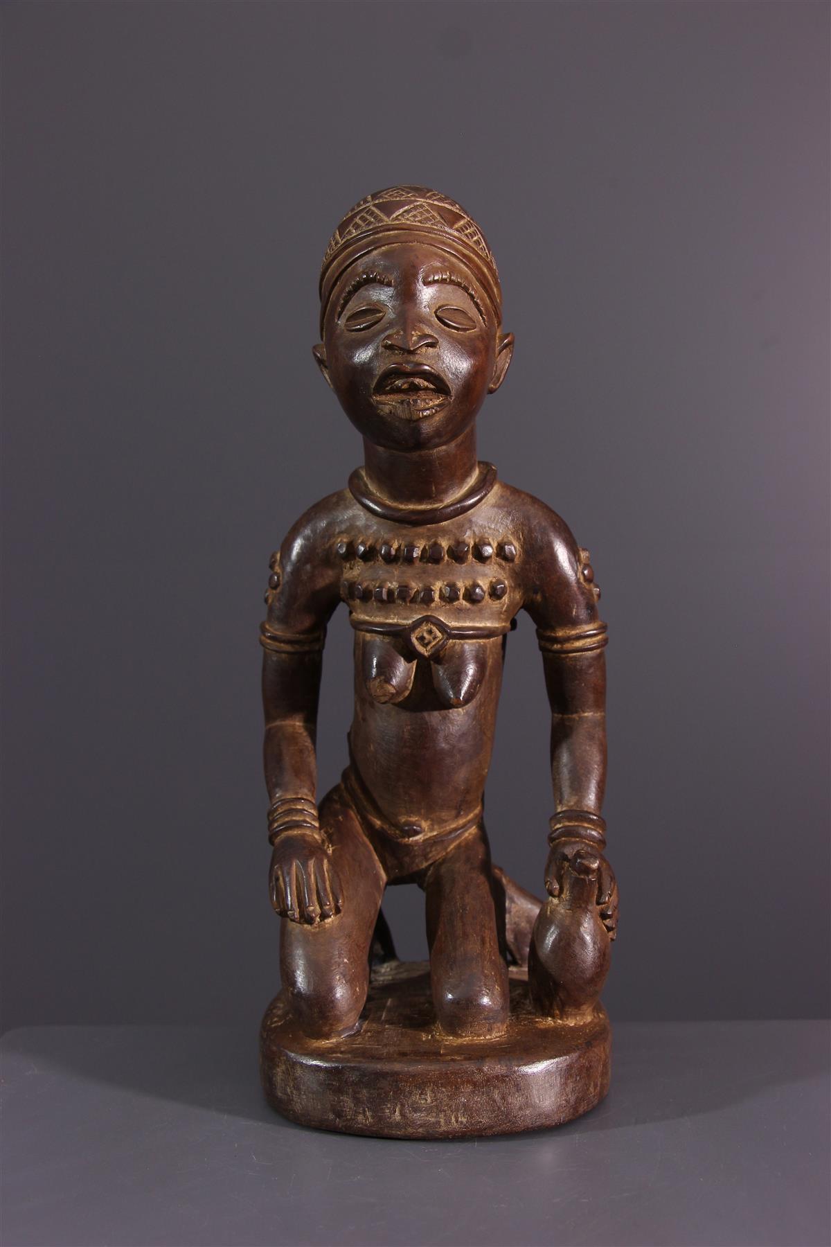 Yombe figure - African art