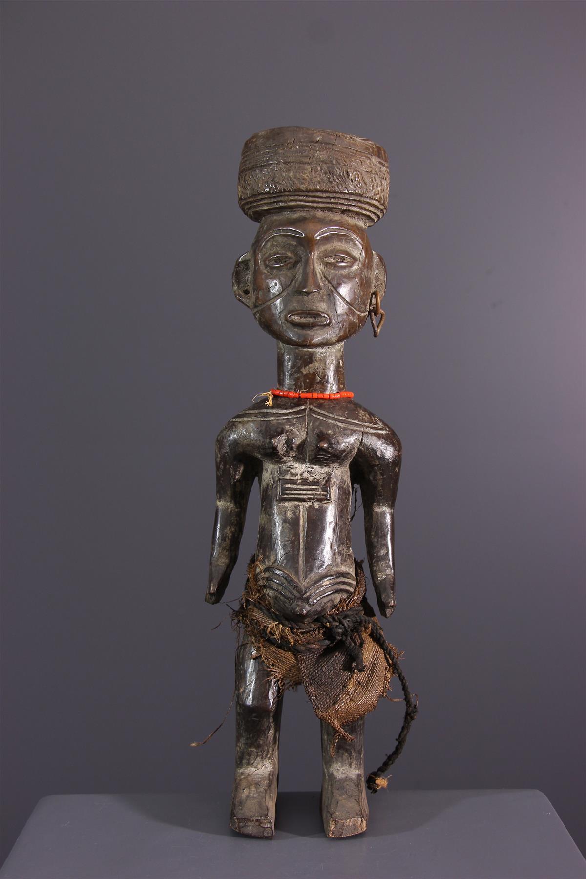 Lwena statue - African art