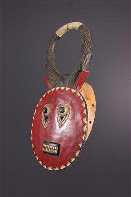African art - Kplé kplé du Goli Baule mask