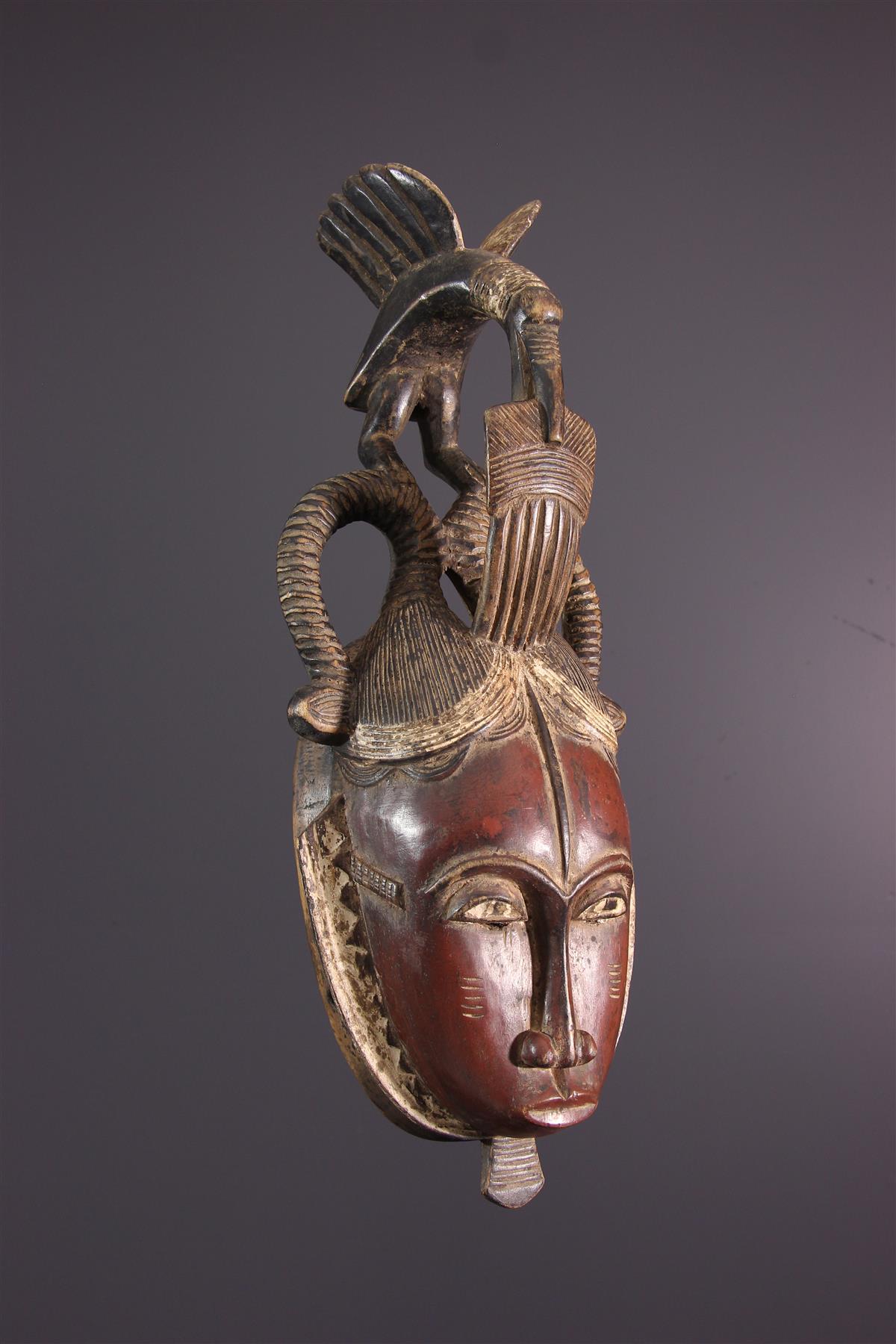 Yohure mask - African art