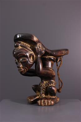 African art - Luluwa, Lulua headrest