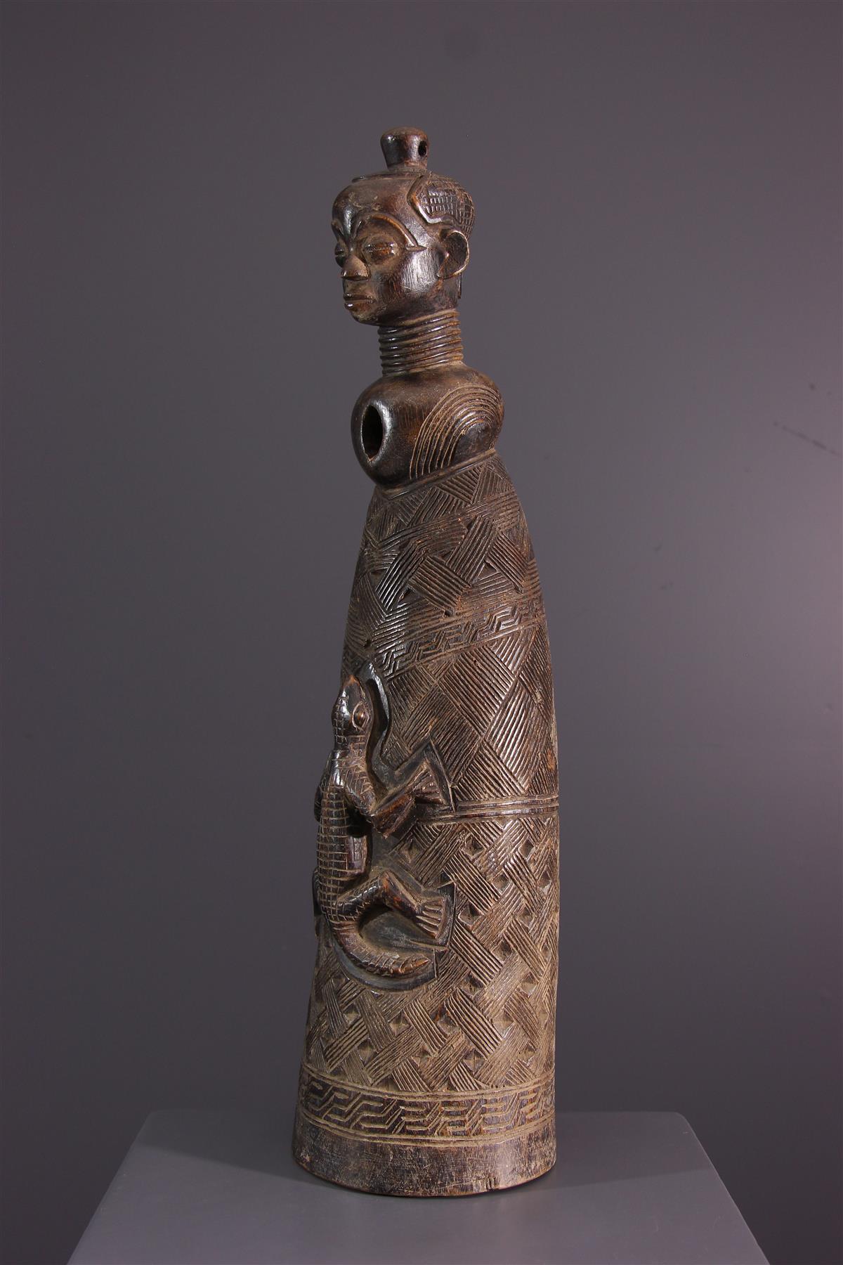 Kuba horn - African art