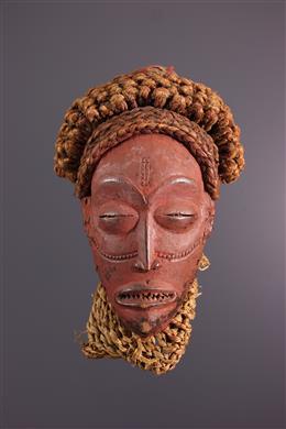 African art - Chokwe Mukishi wa Mwana Pwo mask