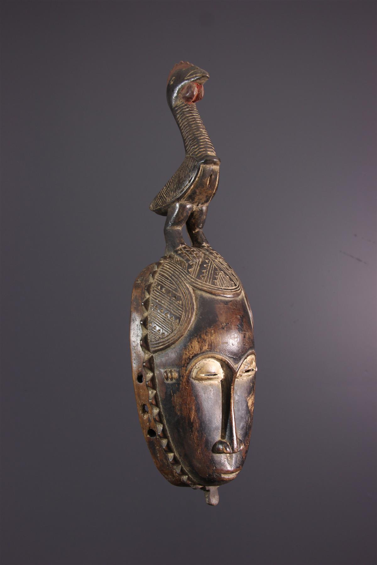 Yohoure masker - African art