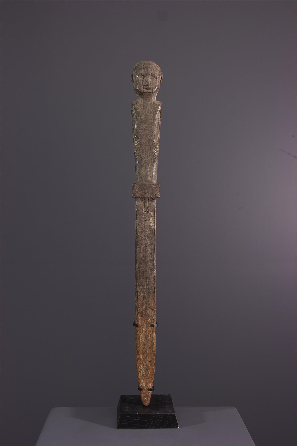 Bongo figure - African art
