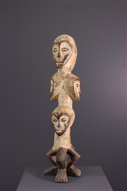 African art - Lega Sakimatwematwe statue