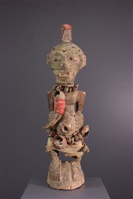 African art - Nkisi Songye Kalebwe statue