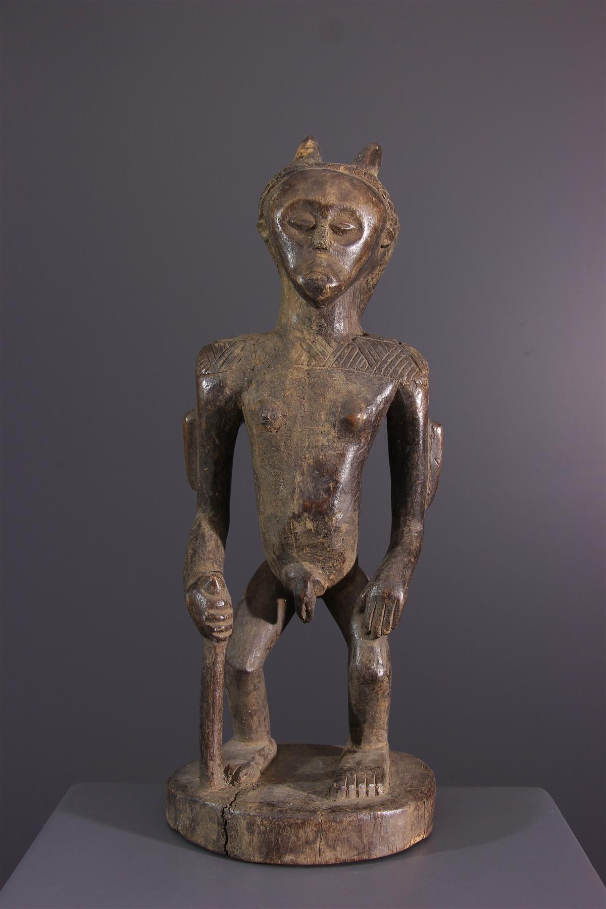 Zula statue - African art