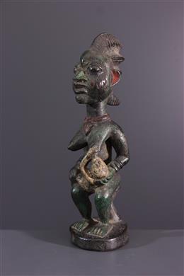 African art - Yoruba maternity figure