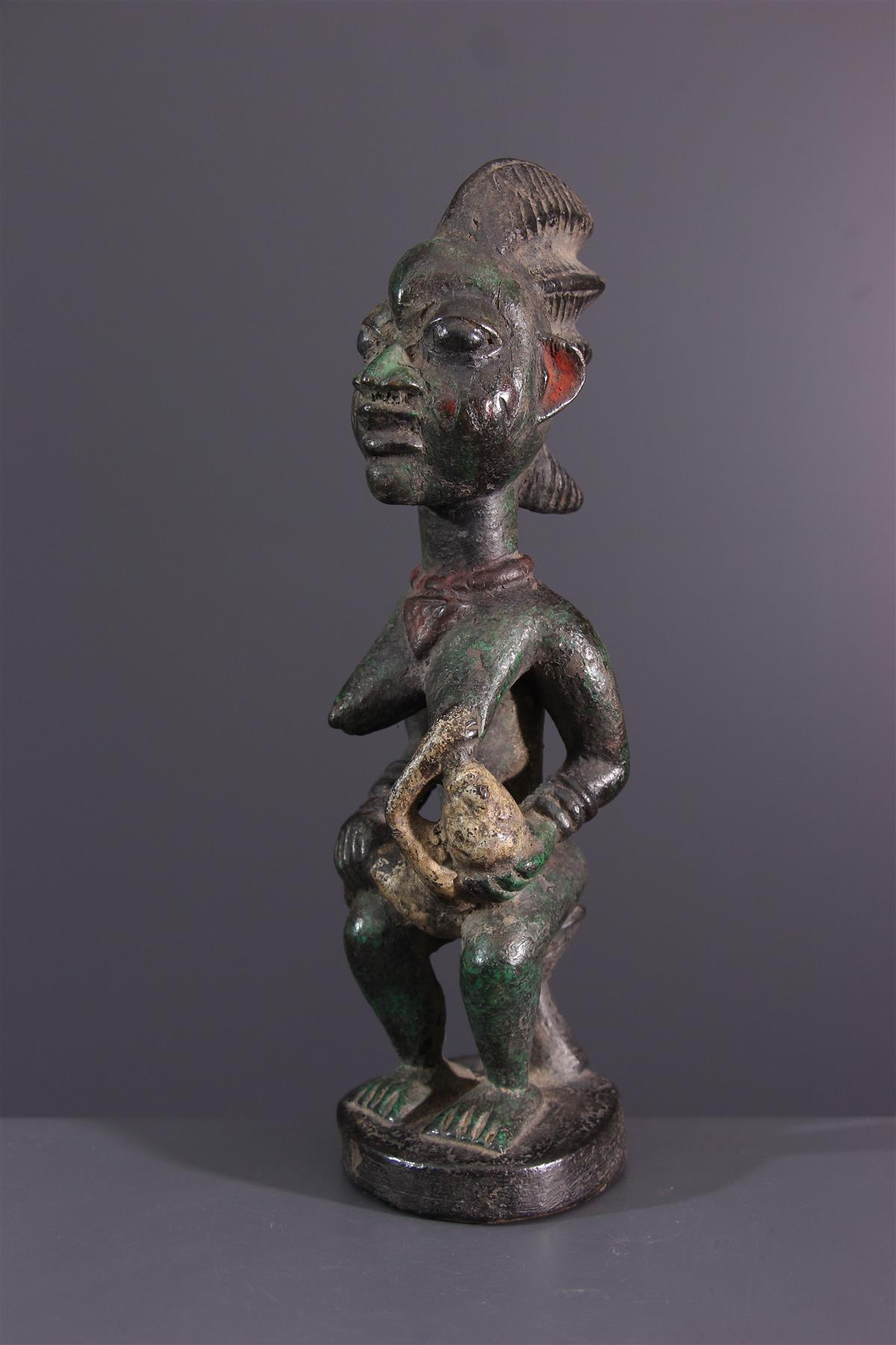 Yoruba figure - African art