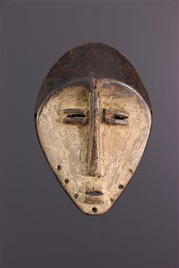 African art - Lega Lukwakongo small mask