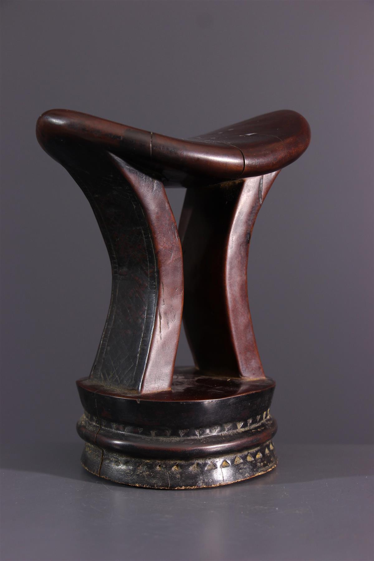 Ethiopian headrest  - African art