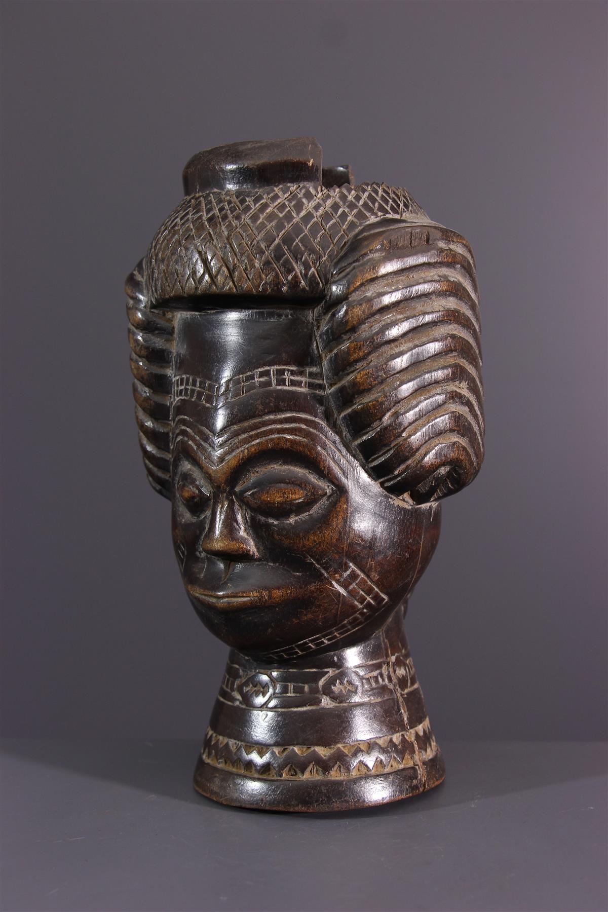Lele cup  - African art