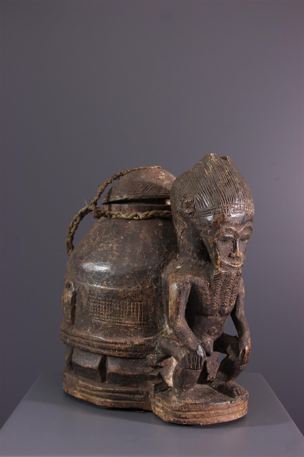 Baule box  - African art