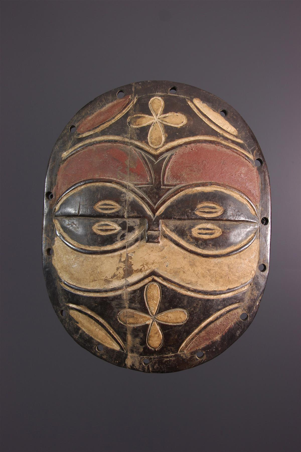 Teke shield - African art