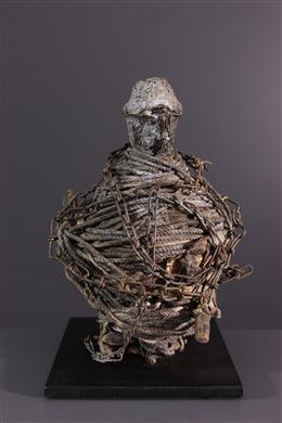 African art - Vodou Fon Benin Fetish